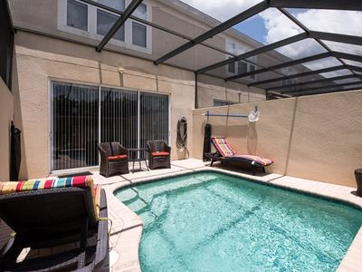 Photo for Hills Palace - Beautiful Upgraded Townhome with a South Facing Pool & Mickey Mouse Bedroom
