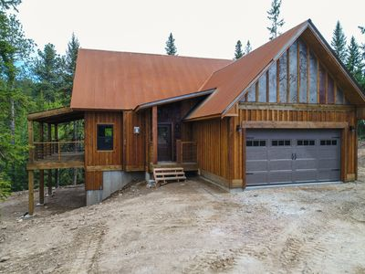 Photo for Brand New Modern 4 BR with Hot Tub Close to Recreation. Bring your Sleds/ATVs