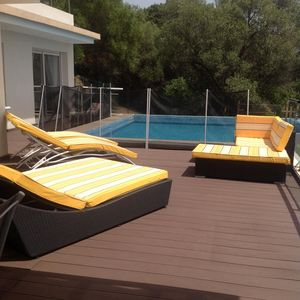 Photo for Rte Sanguinaires Villa with pool 150 m walk from the beach.