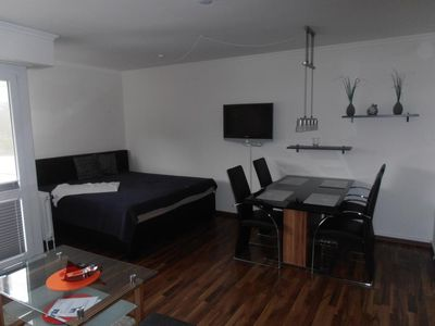 Photo for Terrace house Where. 26, non-smoking, W-Lan, swimming pool, sauna for a fee
