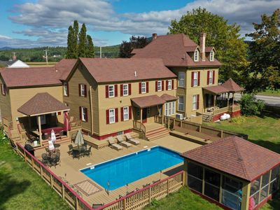 Photo for Thaddeus Twitchell House - In-Ground pool, Hot tub, Skiing, Golf & Weddings.