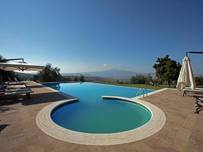 Photo for holiday vacation large villa rental italy, tuscany, near siena, pienza, view, pool, wi-fi, weddings, short term long ter