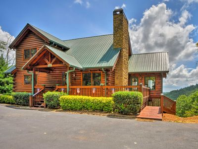 Photo for Superb 'Sunset Lodge' w/ Deck & Mountain Views!