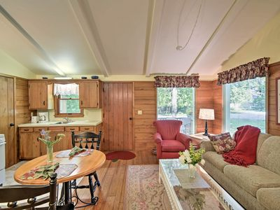Photo for NEW! Cozy Ephraim 'Cedar Cottage' w/Private Deck!