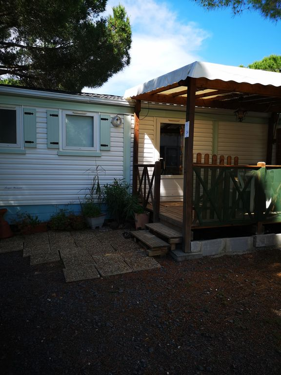 Mobile home n14 for 6 people - Camping Pedro - Agde