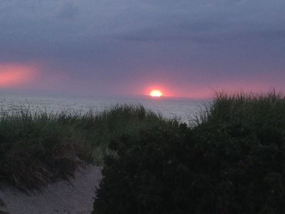 Photo for Nestled in the Sand on Private Mayflower Beach area!  Amazing Views!
