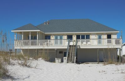 Photo for Direct Gulf Front with Large Balcony Open Concept 4 Bedroom Home