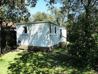 Photo for Camping Le Martinet Rouge *** - Mobile home 3 rooms 6 people Garden