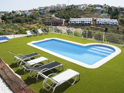 Photo for Club Villamar - Villa built and decorated in a minimalist style, offers a nice private pool and v...
