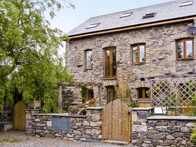 Photo for WILLOW BARN, family friendly, with a garden in Flookburgh, Ref 4534