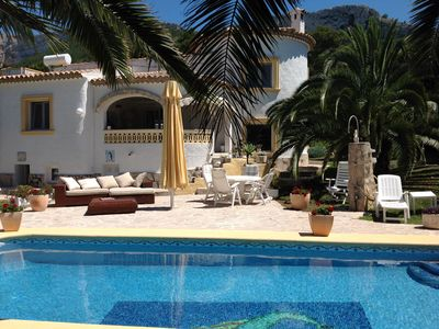 Photo for Spectacular villa for 6-8 people, with private pool, barbecue and terraces.