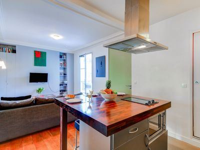 Photo for BRIGHT AND COZY FLAT IN THE HEART OF LE MARAIS – NEAR BEAUBOURG