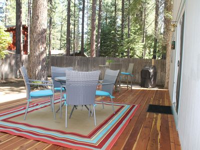 Photo for Spacious Forest House with Private Backyard