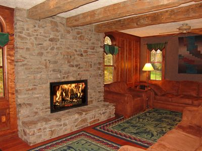 Photo for Amazing Home on Yough River ; Near Bike Trail, Rafting, Hiking, Skiing