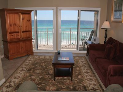 Photo for CRYSTAL SANDS 304B BEAUTIFUL UPGRADED SMACK ON THE BEACH!