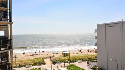 Photo for #501 Ocean Front Condo, 2 Bedroom, 1 Bath, One Virginia Avenue, Rehoboth Beach DE