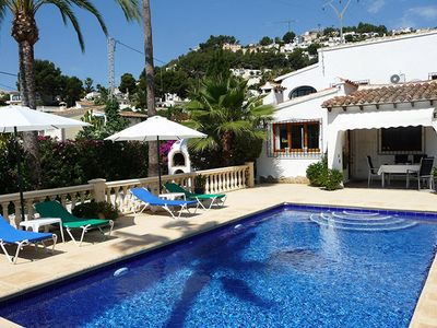 Photo for Villa Beniali is a large detached villa on two levels set in its own quarter acre of secluded Medite
