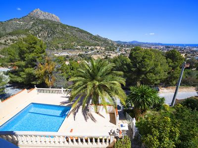 Photo for This 2-bedroom villa for up to 4 guests is located in Calpe and has a private swimming pool.........