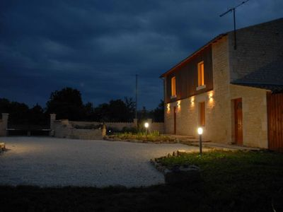 Photo for Stylish, 3 bedroom renovated 19th century Barn in the Heart of Venise Vert