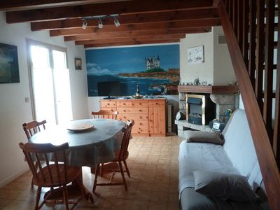 Photo for QUIBERON Near Beach and Wild Coast House with garden and parking 150 meters from the wild coast