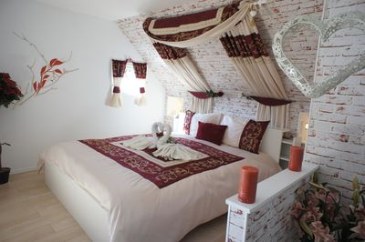 Romantic main bedroom
