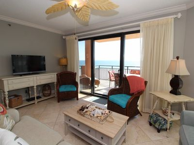 Photo for Seachase 404W- Beach Front Views from Terrace and Luxurious Interior!