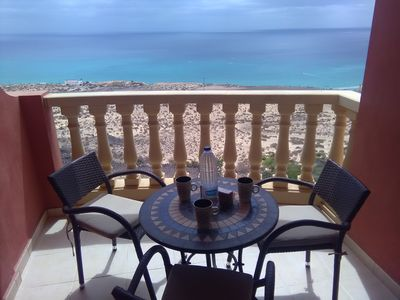 Photo for PARADISE APARTMENT, INCREDIBLE OCEAN VIEWS, WIFI AND COMMUNITY SWIMMING POOL