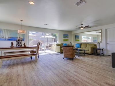 Photo for The Perfect large Family Beach Getaway! 3 Min Walk To Beach - Family reunions!