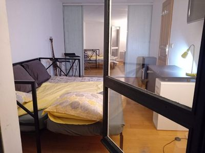 Photo for Beautiful private room homestay Cergy near greenery