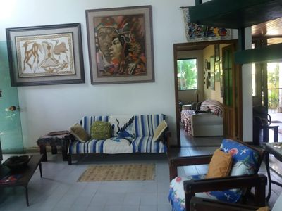 Photo for Large and comfortable house for up to 12 people in São Lourenço Beach