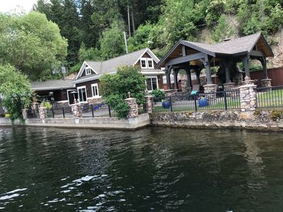 Photo for Lakefront Luxury with a private Dock & Boat Launch
