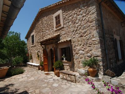 Photo for ENCHANTING RURAL HOUSE OF STONE IN OLIVAR, BBQ. FORNALUTX