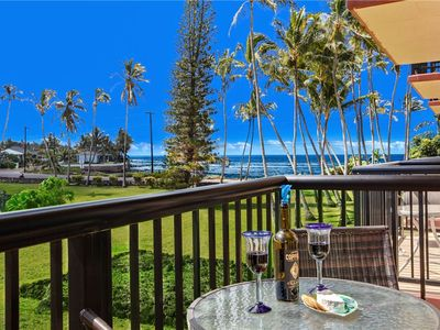 Photo for Ocean & Garden Views, Across from Great Snorkeling Beach & Oceanfront Restaurant