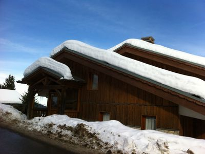 Photo for Meribel-Mottaret 3 pieces for 6 persons with balcony overlooking Meribel AND MOUNTAIN