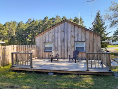 Photo for Spacious 3B Bungalow, Huge Deck, Main St!