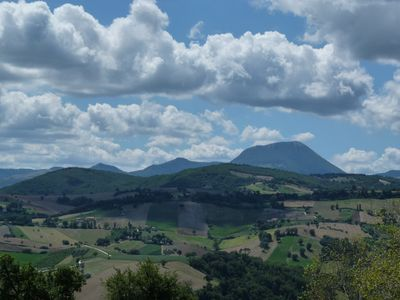 Photo for The house in Contrada Madonna del Piano; the wonder of the landscape of the Marches