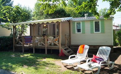 Photo for Camping Abri de Camargue **** - 3-room mobile home 4/6 people