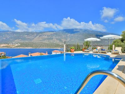 Photo for Luxury detached villa with pool - exclusive Kas Peninsula