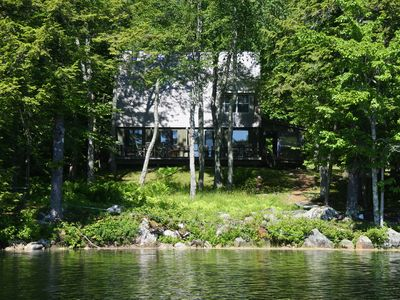 Photo for Peaceful and private camp on Hobbs Pond Maine
