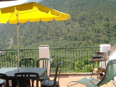 Photo for Olivetta San Michele Village House, Balcony, Terrace Panoramic View