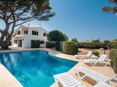 Photo for Holiday home with pool in coastal town