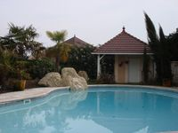 A lovely spacious villa with a super outdoor area and pool.