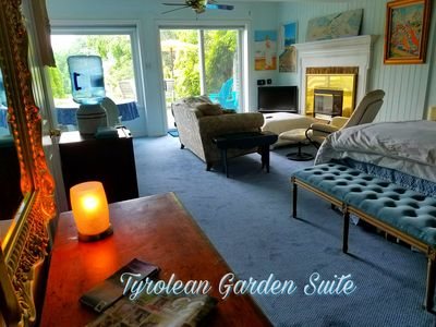 Photo for Tyrolean Garden Suite With Pool and Private Entrance In Art Villa