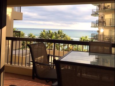 Waikiki view from your lanai
