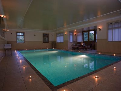Photo for Luxurious House with indoor heated swimming pool - sleeps 15