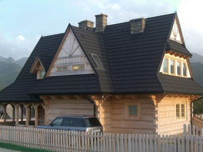 Photo for Luxurious wooden villa on Zakopane hillside