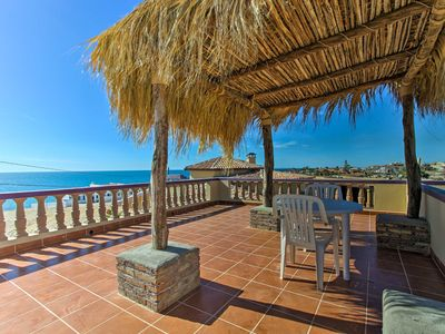 Photo for Charming Las Conchas Home w/Deck - Steps to Beach!