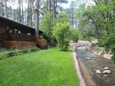 Photo for On The River In Ruidoso's Upper Canyon (B)