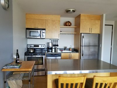Photo for Downtown condo with free parking