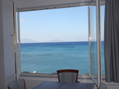 Photo for Ostria View, an apartment  located right next to the sea, with exceptional view.